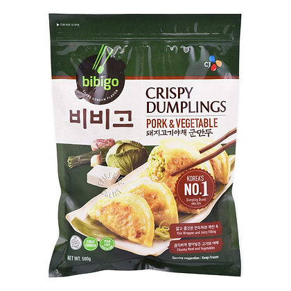 Bibigo Crispy Dumplings Pork & Vegetables 560g