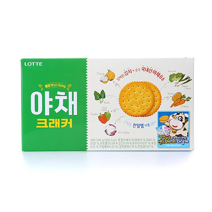 Lotte Vegetable Crackers 249g