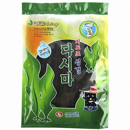 Sung Gyung Dry Kelp 80g