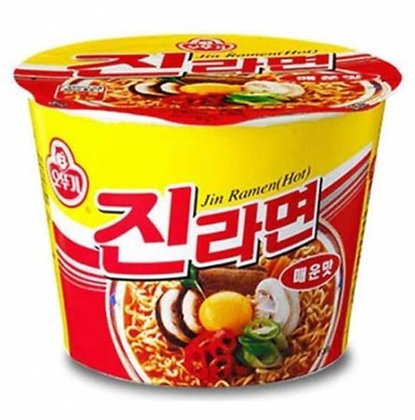 Ottogi Jin Cup Ramen Big Spicy Flavor 110g