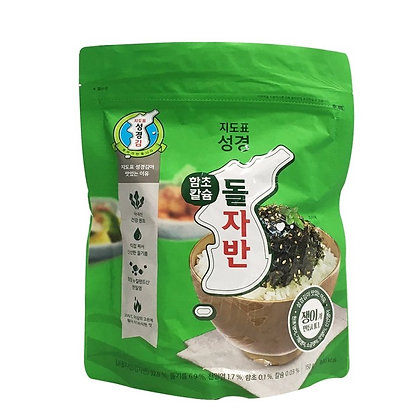 Sung Gyung Stone Seaweed Sliced Laver Hamcho Calcium 150g