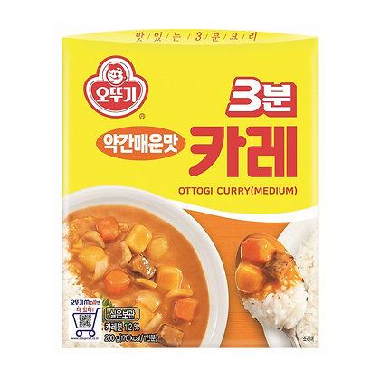 Ottogi 3 Minutes Curry (Medium) 200g
