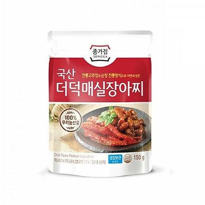 Jongga Chili Paste Picked Vegetables 150g
