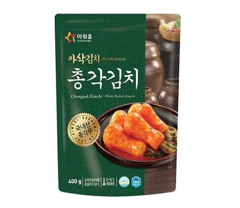 Our Home Ah-Sahc Chonggak Kimchi 400g