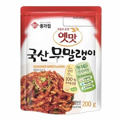 Jongga Seasoned Dried Radish 200g