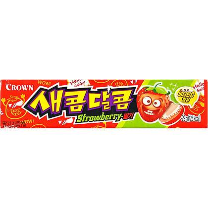 Crown Strawberry Soft Candy 29g