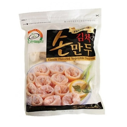 Full Green Kimchi Flavoured Vegetable Dumplings 907g