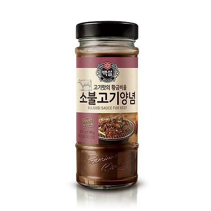 Baekseol Bulgogi Sauce For Beef 500g