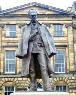 Ecosse-Edinburgh-Statue-04
