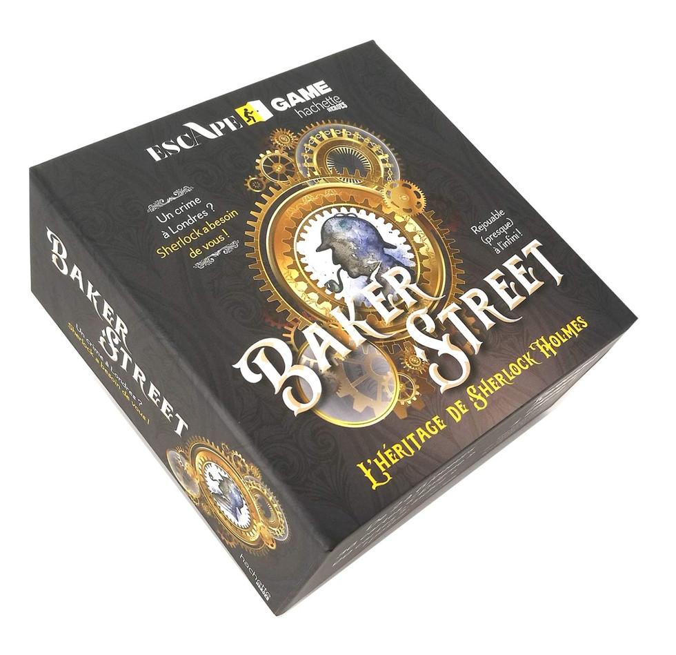 Jeu - Boîte escape game Baker Street : L'héritage de Sherlock Holmes