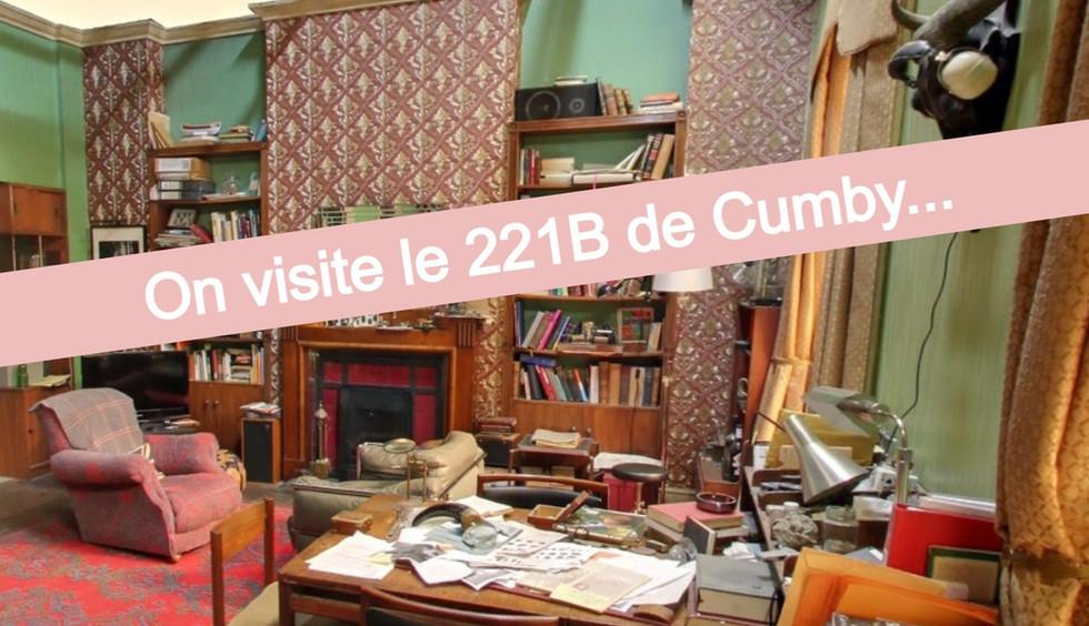 "Visitez le 221b Baker Street, version ""Sherlock BBC"""