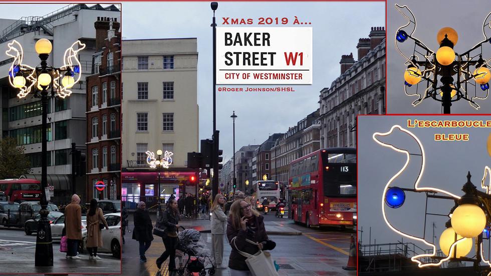 Insolite - Noël 2019 à Baker Street