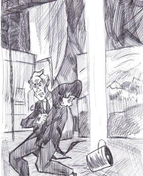 Sherlock Holmes dans la coulisse