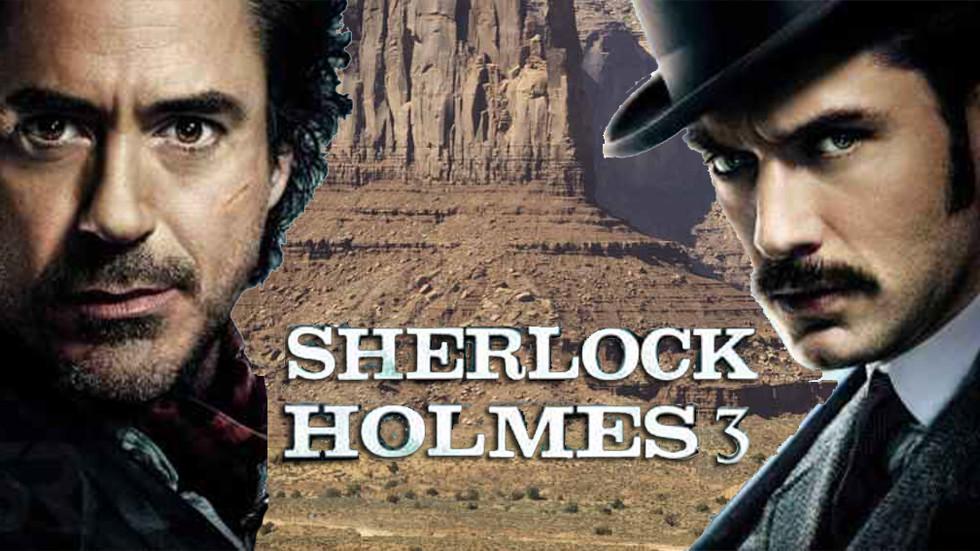 """Cinéma - """"Sherlock Holmes 3"""", les dernières news"""