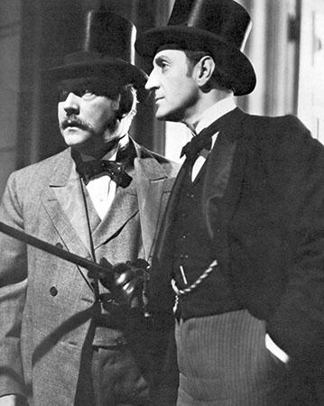 08 - Nigel Bruce et Basil Rathbone
