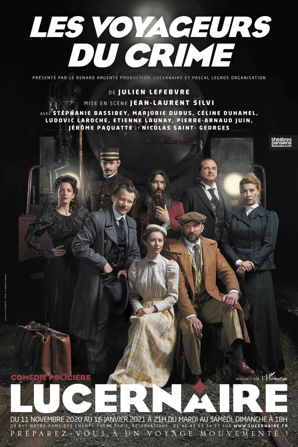 Théâtre - Les Voyageurs du Crime