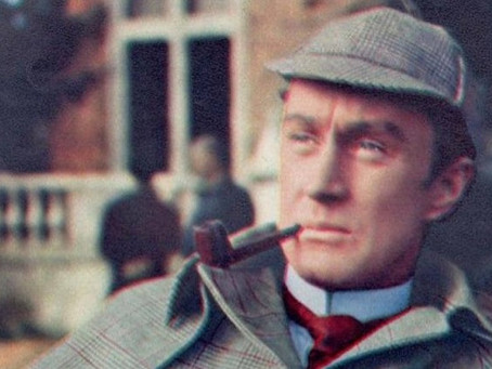 Ronald Howard as Sherlock Holmes in color