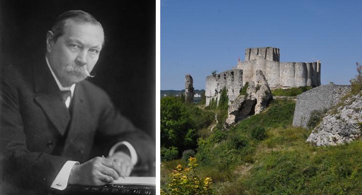 """Conan Doyle - Arthur aux Andelys, dans le magazine """"Patrimoine Normand #111"""""""