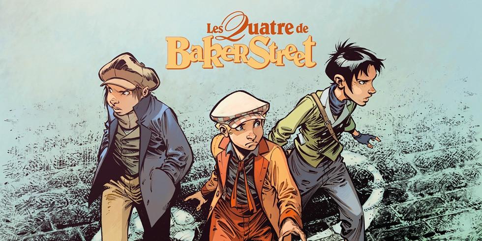 BD - Les Quatre de Baker Street - Tome 8