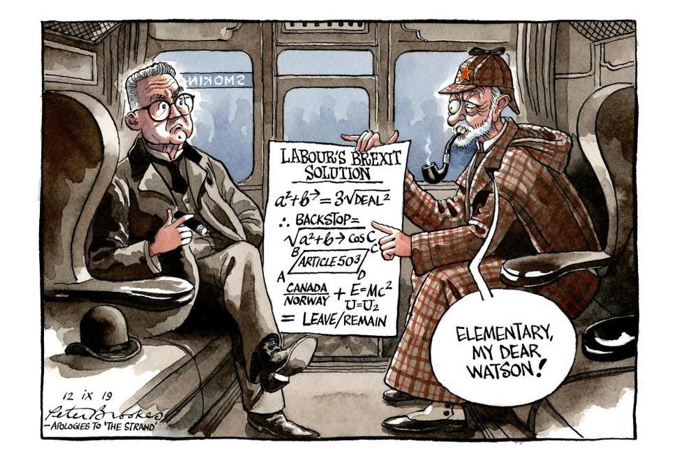 Humour - Brexit? Elementary, my dear Tom Watson!