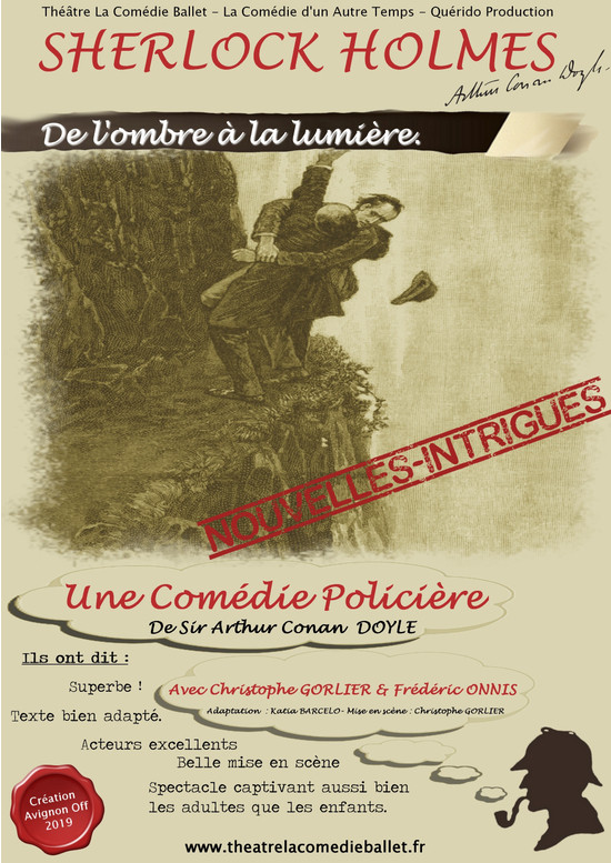 Théâtre - à Marseille, on finit l'année avec Sherlock Holmes
