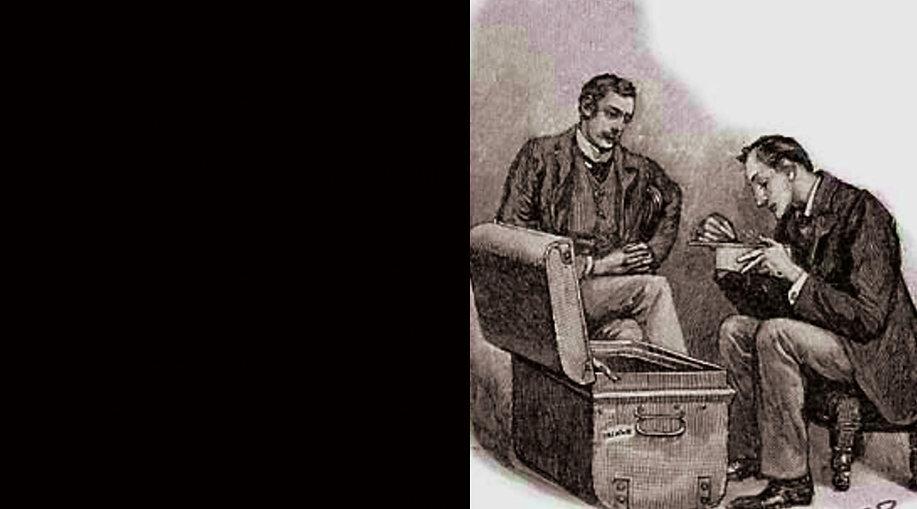 Le Rituel des Musgrave, vu par Sidney Paget