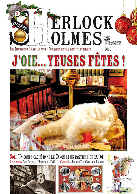 Magazine Sherlock Holmes n°3