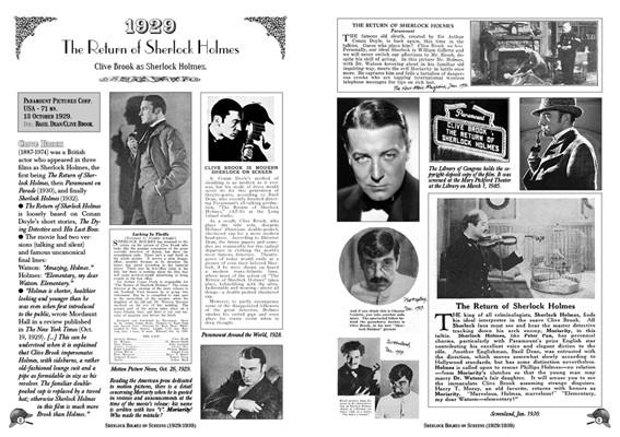 Sherlock Holmes on Screens (1929-1939)-1
