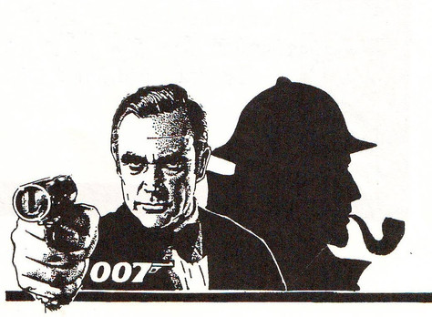 Pastiches - Holmes Meets 007, by Donald Stanley