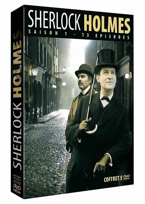 Sherlock Holmes - S1 - 13 ép. - Coffret 5 DVD