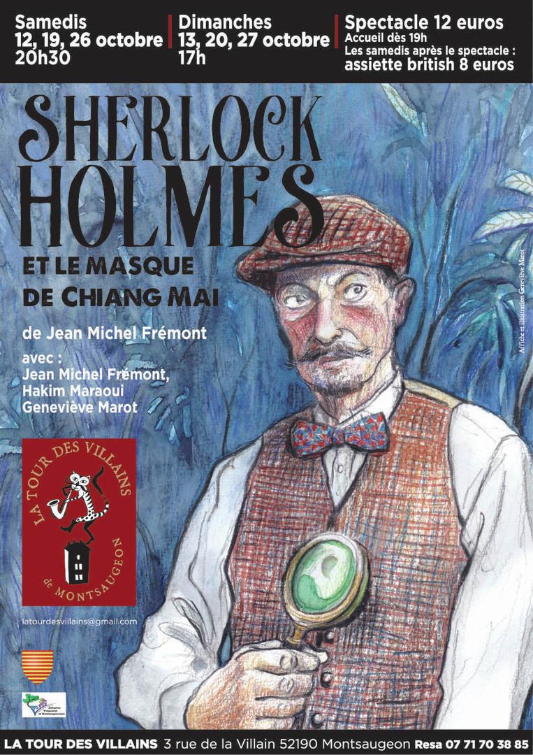 Théâtre - Sherlock Holmes et le masque de Chiang Mai