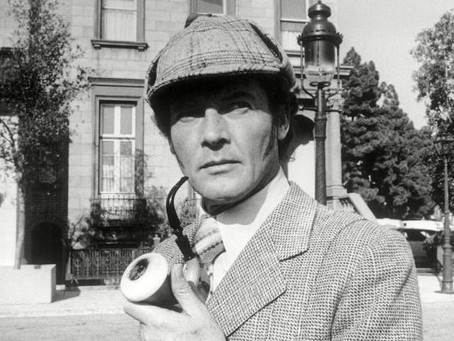 Roger Moore about Sherlock Holmes