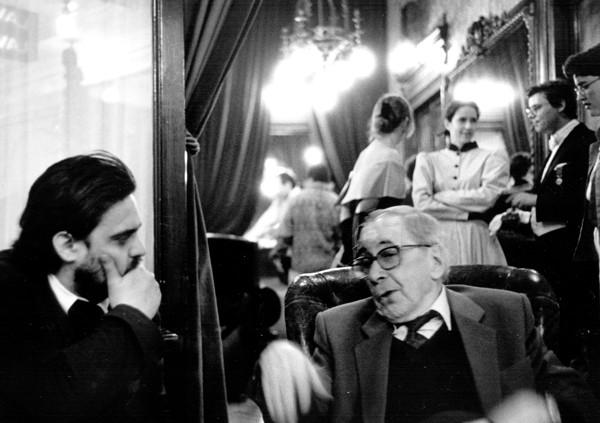 Thierry Saint-Joanis et Jacques Thébault le 15 mai 1999