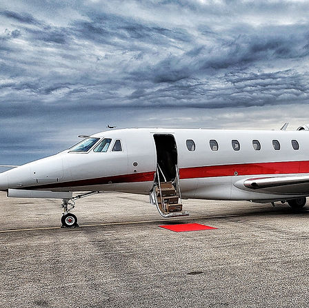 Private Jet with Zephyr Travel Curators.