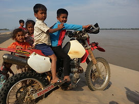 Off the beaten Track Dirt Bike Motorcycle Off-Road Guided Tour Cambodia