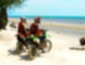 Dirt Bikes at the beach