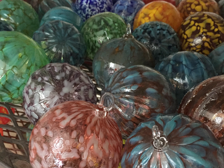 "The making of a ""Gemstone Collection"" holiday ball ..."