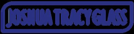 Joshua Tracy Glass Logo - Midnight Blue.
