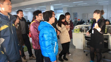 North China University of Technology venture students visited hubchina station