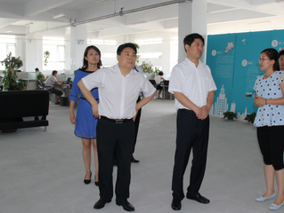 Officials from the Communist Young League and Municipal Government Came to Hubbd