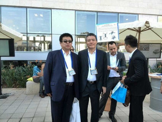 DLD International Innovation Summit in Israel held Golden seed project made by the Secretary-General