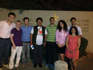 Dandelion international youth entrepreneurship Coaching Inn to visit Tel-Aviv University