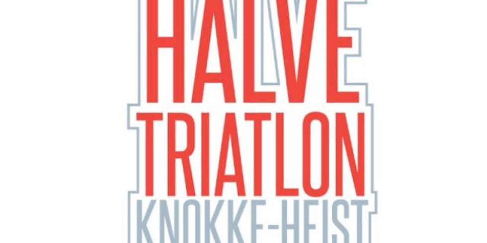 De halve triatlon van Knokke-Heist