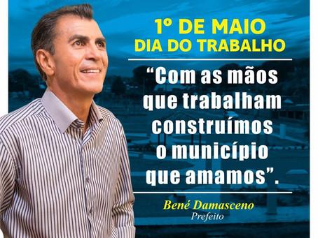 Prefeitura de Porto Acre deseja Feliz Dia do Trabalhador