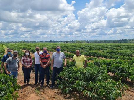 Prefeito Olavinho recebe visita do vice-governador Major Rocha e da deputada Federal Mara Rocha