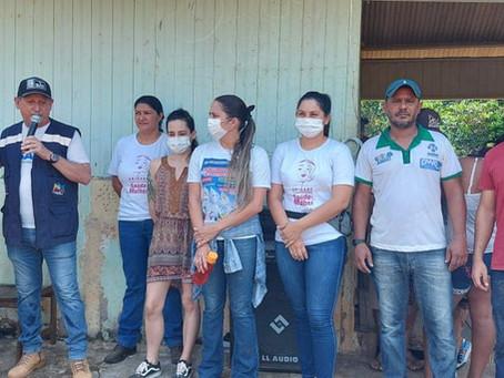 Seringal Nazaré recebe o 40º Atendimento de Saúde da Prefeitura de Xapuri