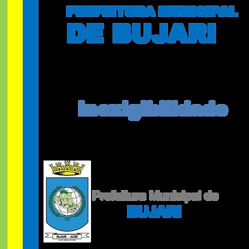 Inexigibilidade N° 001/2021 -  Serviços de ASSESSORIA E CONSULTORIA TÉCNICA