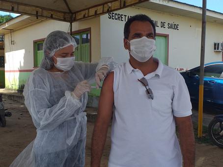 Rodrigues Alves avança na vacinação contra a Covid-19