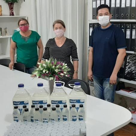 Secretaria de Assistência Social distribuirá álcool em gel doado pela Funtac e órgãos parceiros