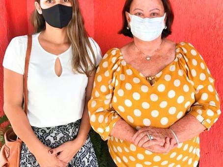 Vereadora Lidiane Dornelas dialoga políticas públicas e emendas para Capixaba com Deputada Federal